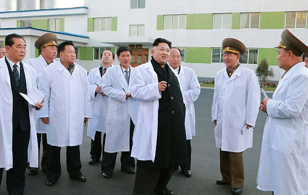 Your medical team in North Korea