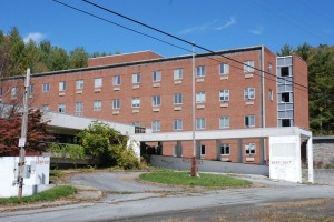 The old Cannon Hospital in Banner Elk has sat vacant since about 1999. Photo by Paul T. Choate / 2012